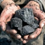 Microwaved coal turns into graphite