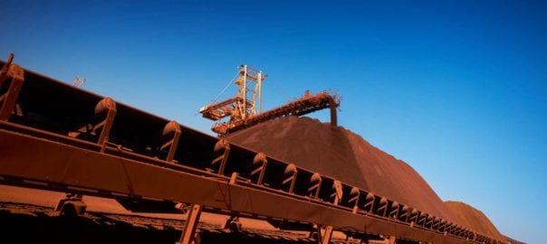 BHP iron