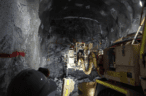 Heron processes Woodlawn's first underground ore