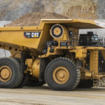Caterpillar hits emissions target with 794 AC truck