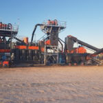 State-of-the-art processing plant under installation at Centrex Metals' phosphate site