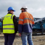 Lincom makes mark with compact mobile impact recirculating crusher