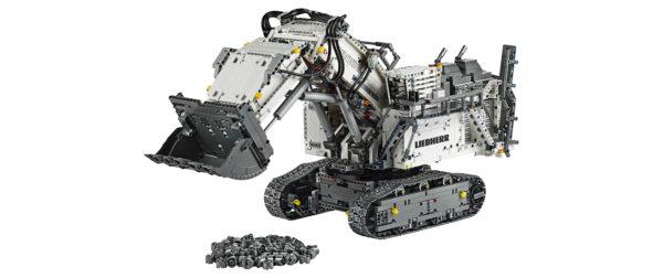 Lego Unveils Replica Liebherr R 9800 Excavator Australian Mining