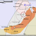 Tropical Cyclone Blake advances towards Western Australia