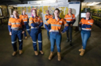 Anglo American drives women in mining program