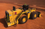 NPE delivers Australia's first rental Cat 994K Wheel Loader to Rio Tinto's Marandoo Mine in WA