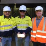 Horizon's first gold pour heads for shipment