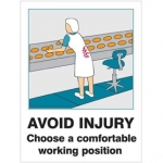 Safety and warning signs from Signet