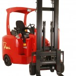 Narrow aisle forklifts