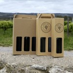 Wine and bottle packaging innovation released