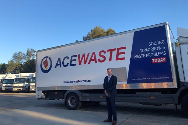 Frontline support: Ace Waste