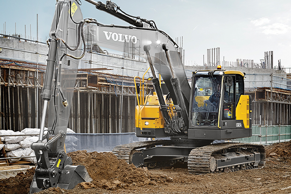 CJD Equipment's Volvo ECR235E excavator