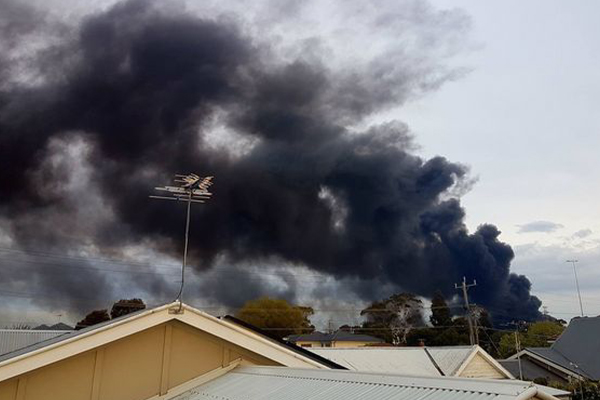 34 charges laid over Melbourne factory fire