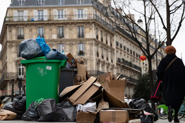 Calls for Europe to double waste streams