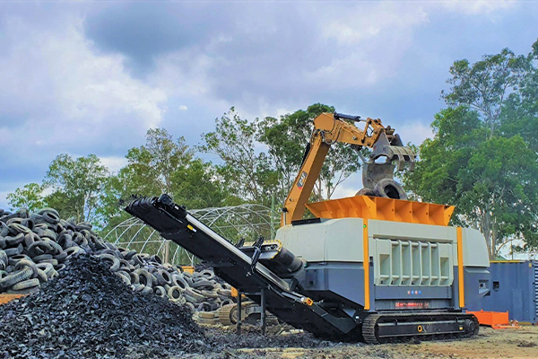Australian Tyre Processors invests in UNTHA shredding technology