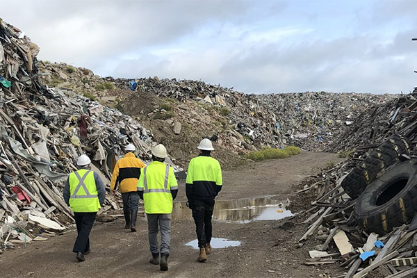 Final works to remove illegal waste in VIC