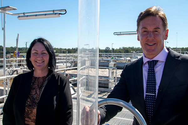 QLD $57M wastewater treatment plant now operational