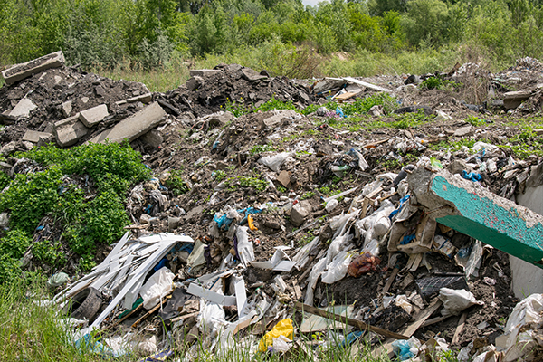Work progresses on Lemon Springs illegal waste dump remediation