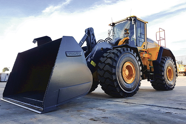 CJD's high-powered Volvo L260H wheel loader