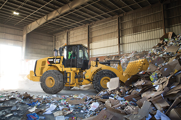 Cat's durable 966M Wheel Loaders